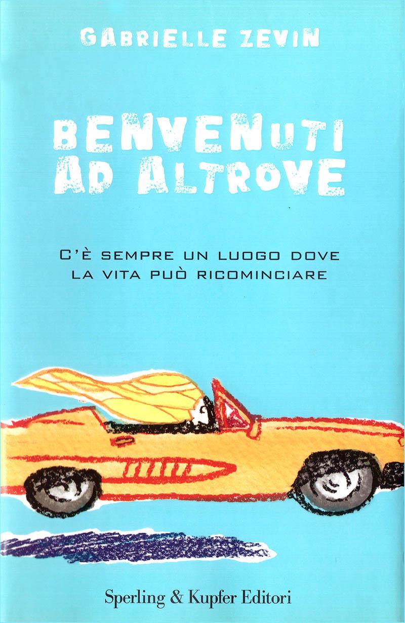 Illustratore Disegnatore Lorenzo Donati Natalori Milano copertina libro auto velocità capelli al vento ragazza