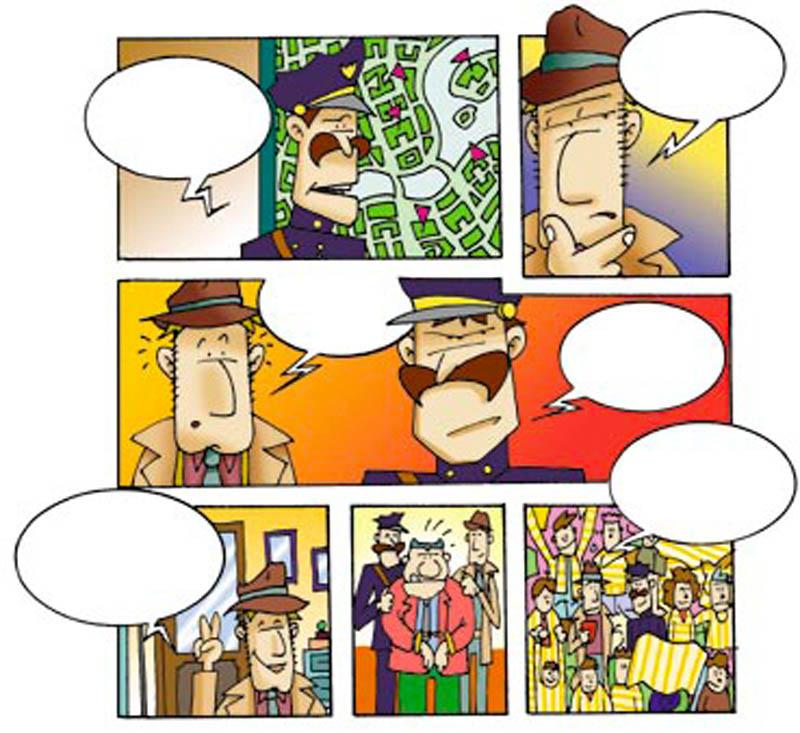 Illustratore Disegnatore Lorenzo Donati Natalori Milano fumetto detective bambini agente polizia investigatore