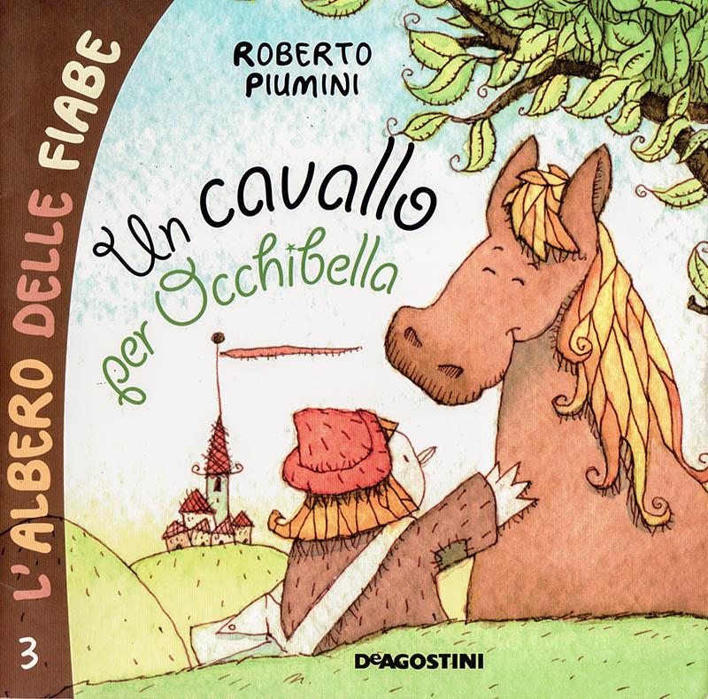 Illustratore Disegnatore Lorenzo Donati Natalori Milano copertina libro cavallo e bambino castello collina prato amicizia