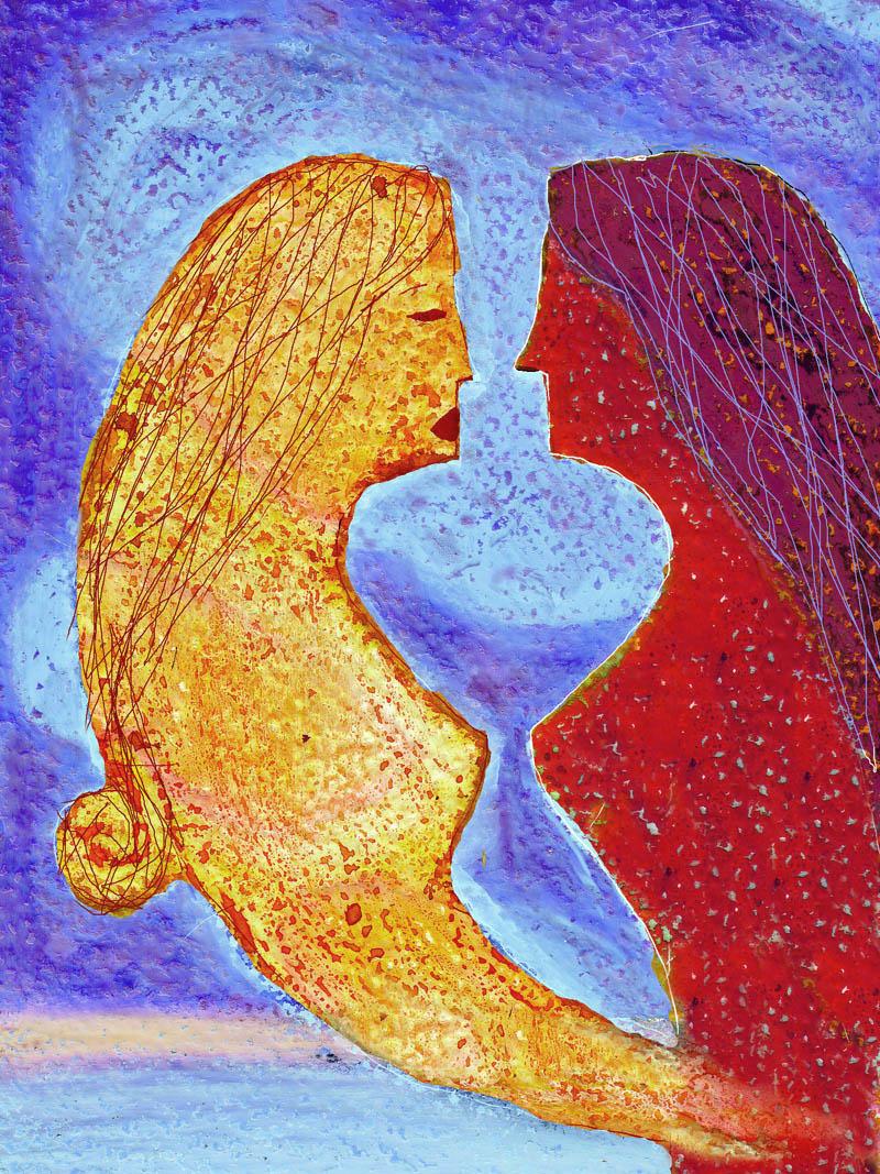 Illustratore Disegnatore Lorenzo Donati Natalori Milano depressione nevrosi patologia psiche schizofrenia