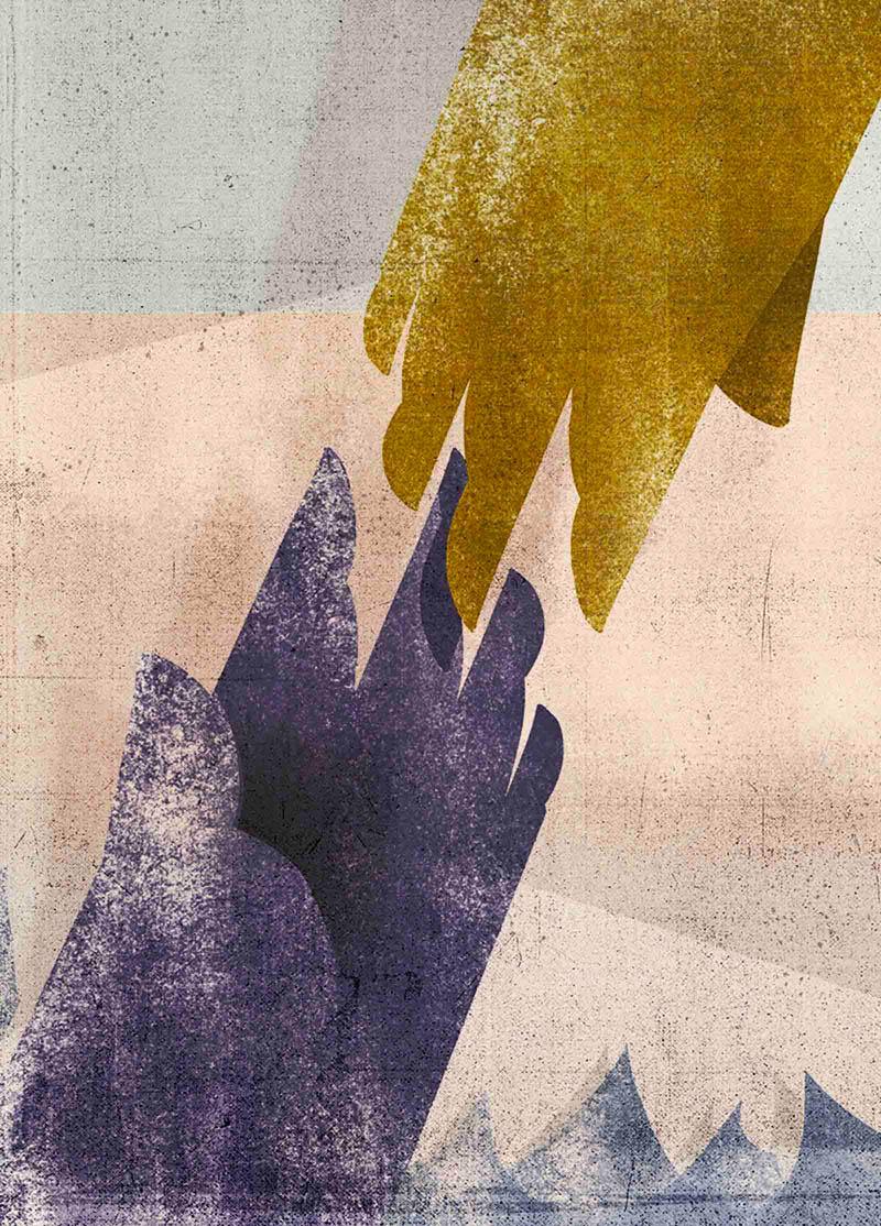 Illustratore Disegnatore Lorenzo Donati Natalori Milano aiuto naufragio migranti solidarietà uomini razza umana amore universale diritti salvezza
